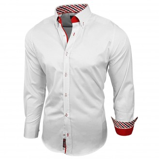 Heren Businessshirt Hemden Wit