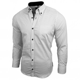 Casual Shirt voor Heren Wit