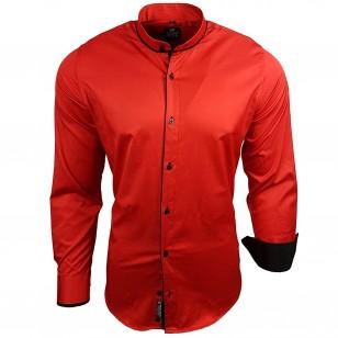 Overhemd Zonder Kraag.Zoeken Tag Mannen Overhemden