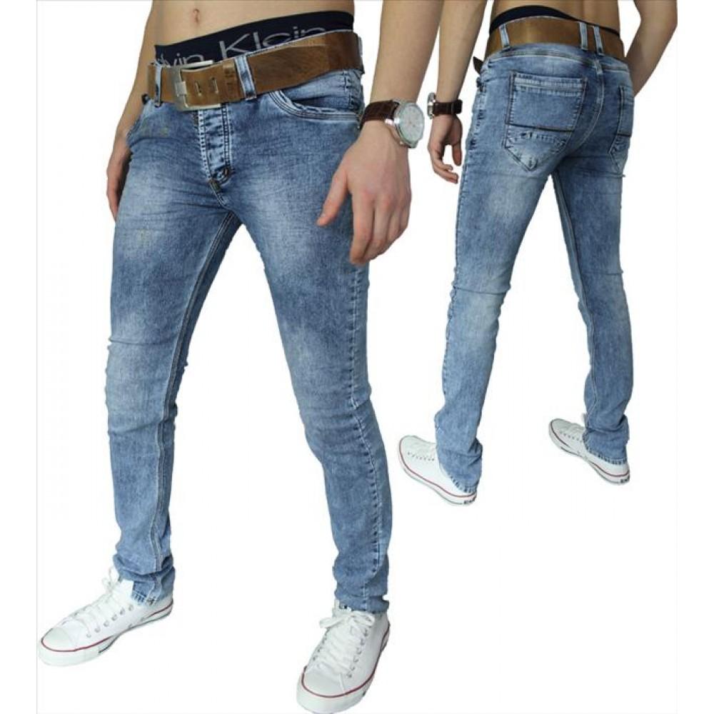 Heren Skinny Stretch Fit Jeans | Modedam.nl: modedam.nl/Heren-Skinny-Stretch-Fit-Jeans-hb010-Modedam-nl