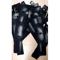 Heren Jeans en Spijkerbroeken Icon Zwart