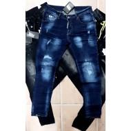 Heren Jeans en Spijkerbroeken Blauw