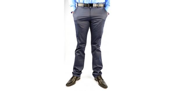 Lichte Spijkerbroek Heren : Heren broek elastisch slim fit lichte blauw hcb fashion planet