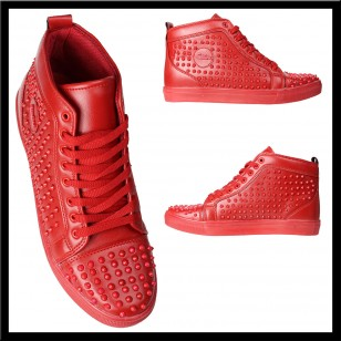 sports shoes 0b0fc 9b829 louboutin rood heren