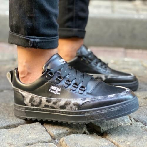 Heren Sneakers met Leger Print