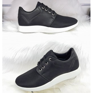 Heren Runner Sneakers Zwart