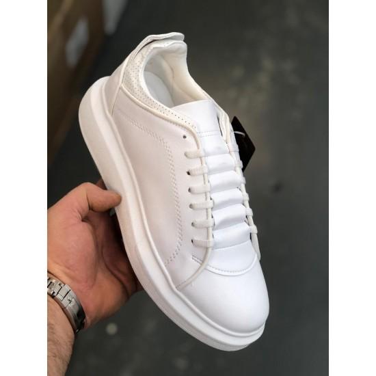 Alexander Mcqueen Platform Sneakers Wit