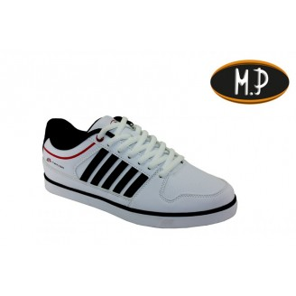 Heren Schoenen Power Stripe Wit