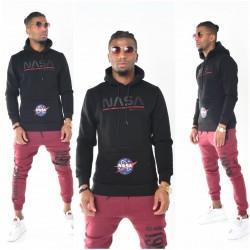 Heren NASA Sweater Hoody met Capuchon | Modedam