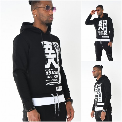 Heren Hooded Sweater Antra | Modedam