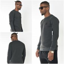 Mannen Thermisch Sweatshirt Antraciet