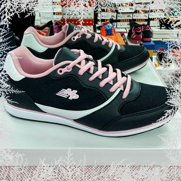 Dames Navy Pink Sneakers
