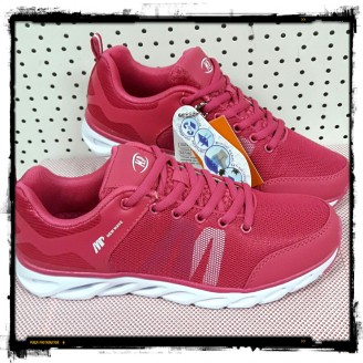 Dames Fuschia White Sneakers