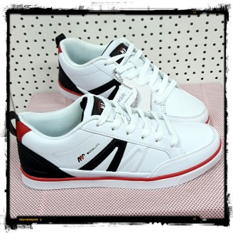 Dames White Black Modality Sneakers